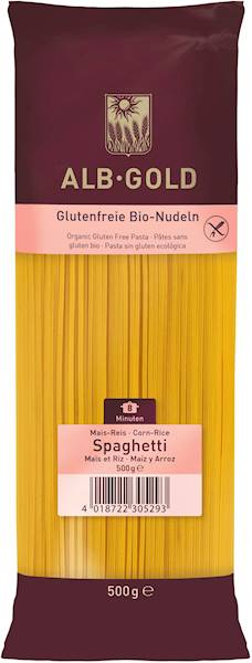 BIO Makaron b/glut. kukur.-ryż. spaghetti 500g