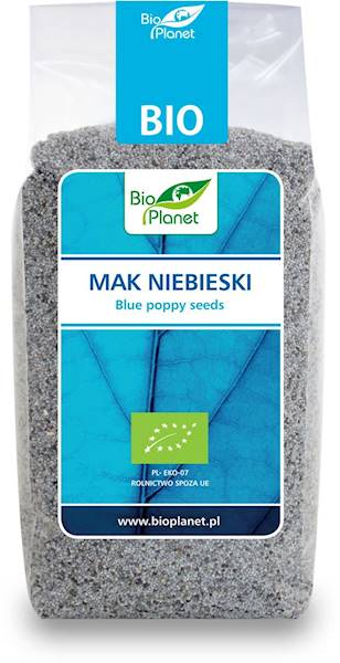 BIO Mak niebieski 200g Bio Planet