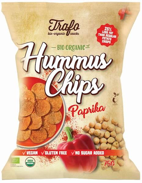 BIO b/glut. chipsy z ciecierzycy paprykowe 75g