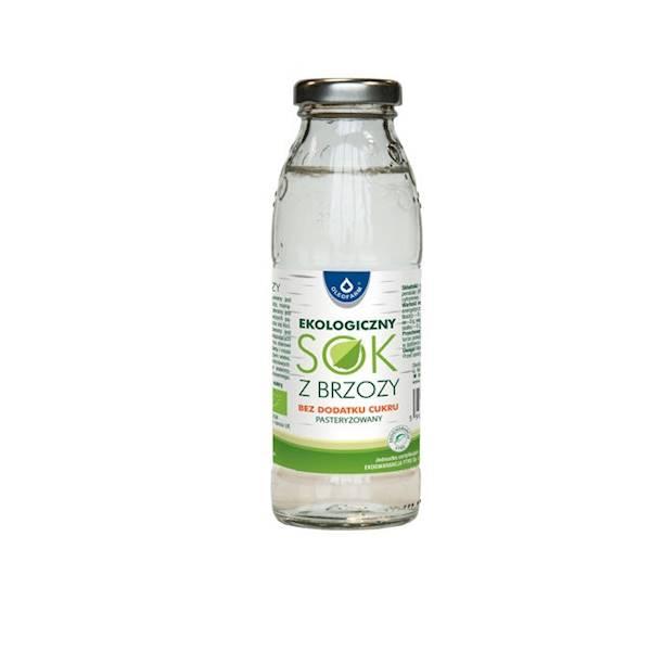 Ekologiczny Sok z brzozy bez dodatku cukru 1l