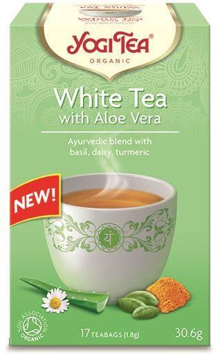 BIO Herbata White Tea z aloesem 30,6g YogiTea