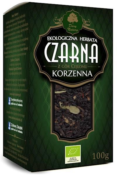 EKO Herbata czarna korzenna 100g  DN