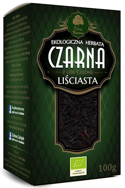 EKO Herbata czarna liściasta 100g  DN