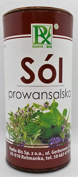 Sól tuba prowansalska 140g Radix