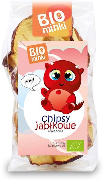 BIO Chipsy jabłkowe 30g Bio Minki