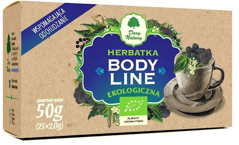 EKO Herbatka Bodyline 25 saszetek  DN