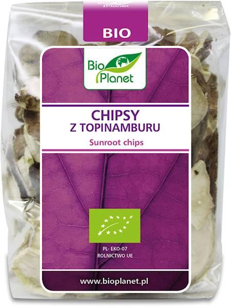 BIO Chipsy z topinamburu 50g Bio Planet