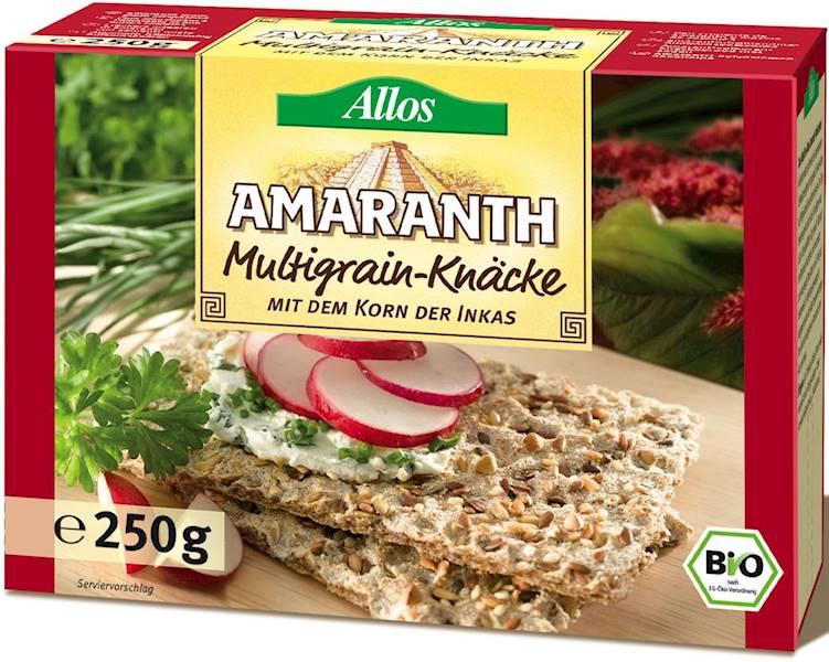 BIO Pieczywo chrupkie amarant. wielozbożowe 250g