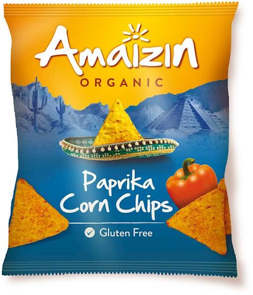 BIO B/glut. Chipsy kukur. paprykowe 75g Amaizin