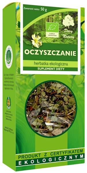 EKO Herbata oczyszczanie 50g Dary Natury SD