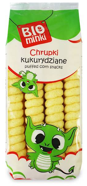 BIO Chrupki kukurydziane spirale b/glut 60g