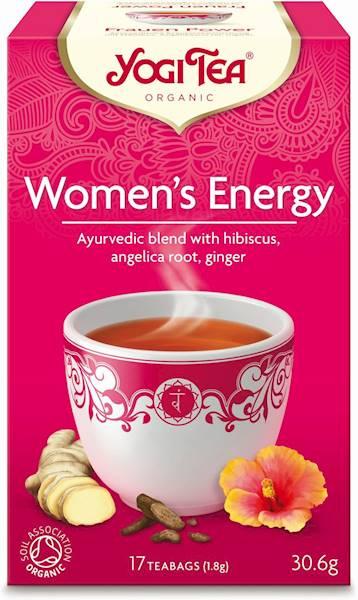 BIO Herbata Women's Energy 17x1,8g YogiTea