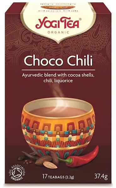 BIO Herbata czekoladowa z kakao i chili 37,4g