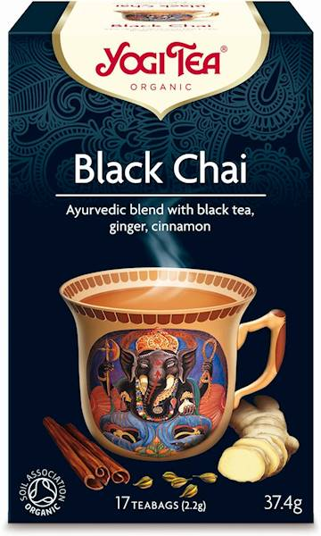 BIO Herbata czarna z imbirem i cynamonem 37,4g