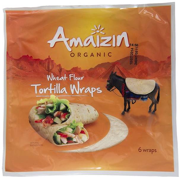 BIO Tortilla wraps 240g