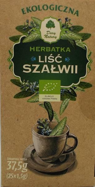 EKO Herbatka liść szałwii 25 saszetek DN