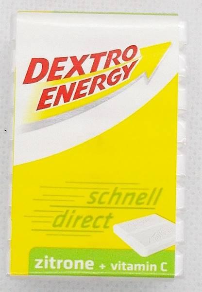 Energetyczne pastylki cytrynowe z dekstrozą i witC