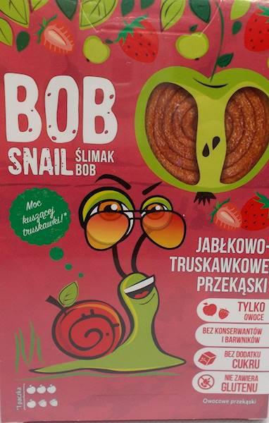 Bob snail jabłkowo-truskawkowe bez cukru