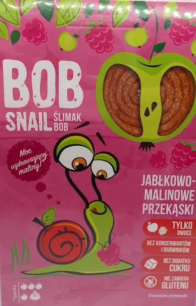 Bob snail jabłkowo-malinowe bez cukru