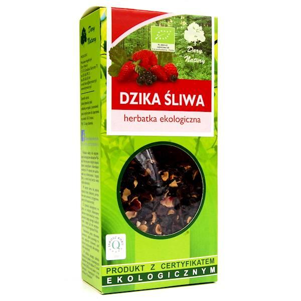 EKO Herbatka Dzika śliwa 100g Dary Natury