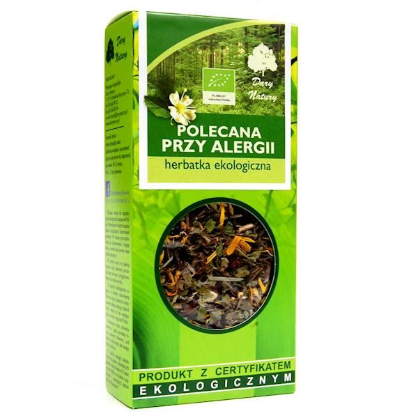EKO Herbatka polecana przy alergii 50g Dary Natury