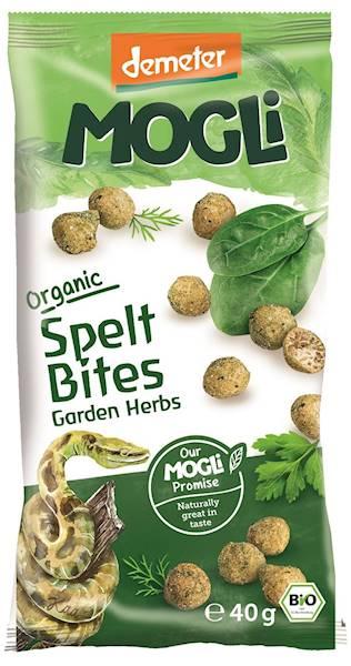 BIO Chrupki orkiszowe z ziołami 40g Mogli