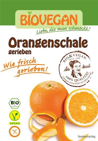 BIO Skórka pomarańczy suszona 9g BIO VEGAN