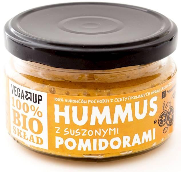 BIO Hummus z suszonymi pomidorami 190g Vega Up