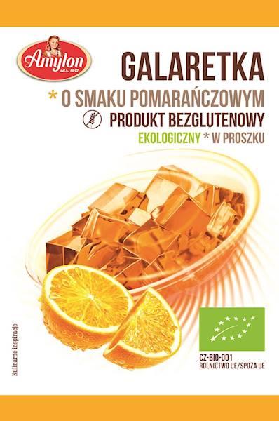 BIO Bezglutenowa galaretka pomarańczowa 40g Amylon
