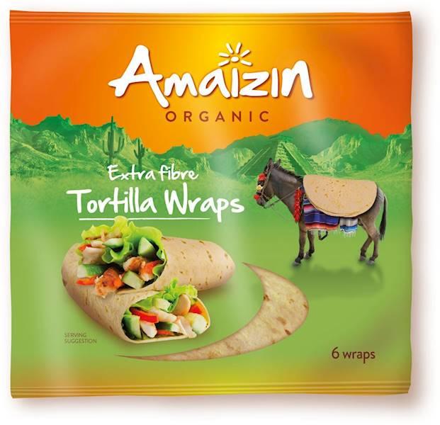 BIO Tortilla wraps z ortębami 240g