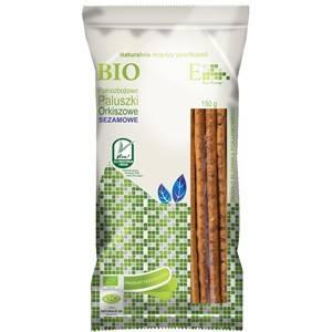 Bio paluszki orkiszowe pełnoziarniste sezamowe 150