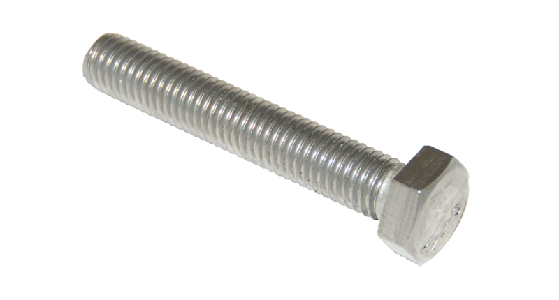 ŚRUBA M6X80 DIN 933 A2