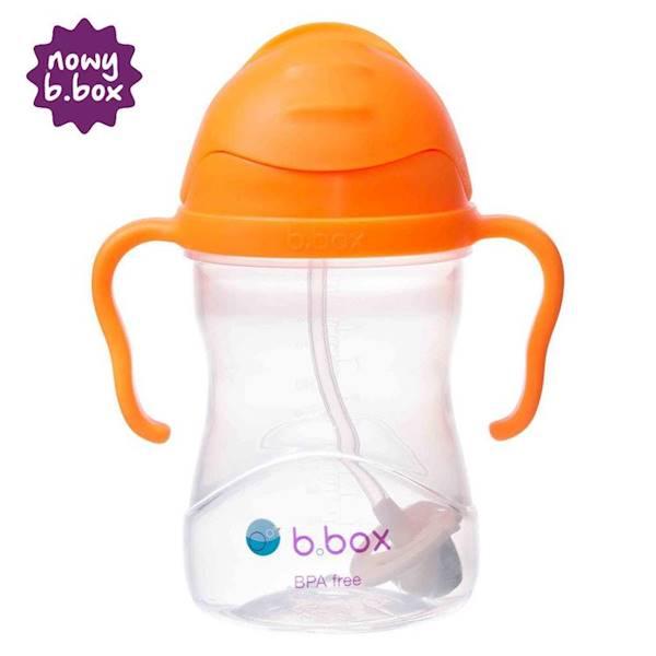 B.BOX - Bidon ze słomką pomarańcza NEW!