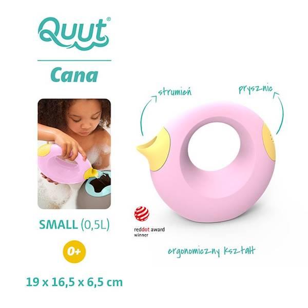 QUUT - Konewka mała Cana Pink+Yellow
