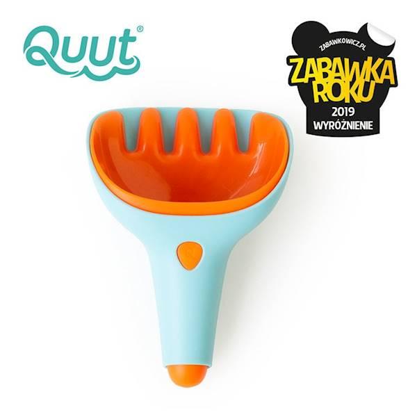 QUUT - Zestaw łopatka i grabki Raki Blue + Orange