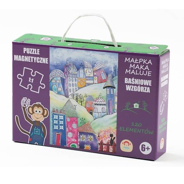 Maka Kids - Puzzle Magnetyczne Baśniowe Wzgórze +