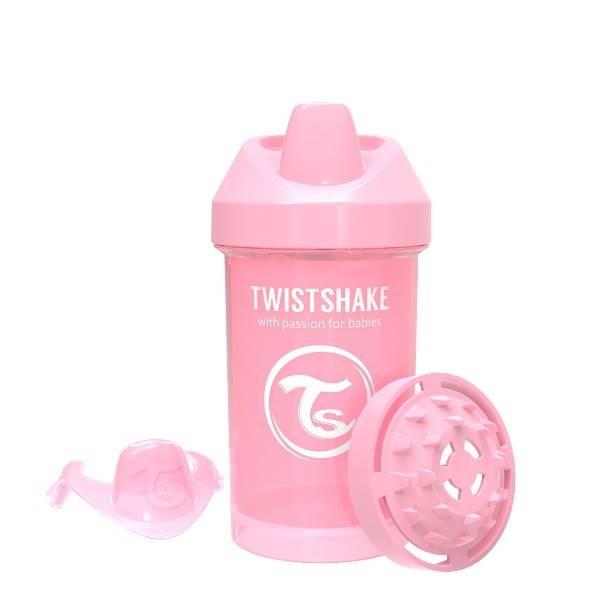Twistshake - Kubek niekapek 300ml różowy