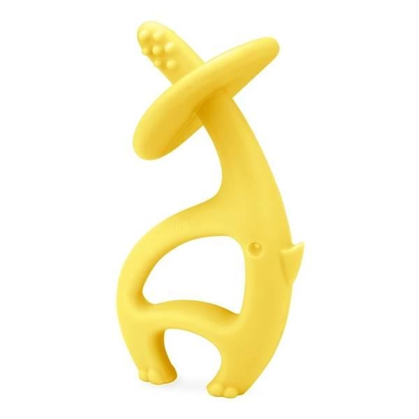 Mombella - Gryzak Dancing Elephant Lemon