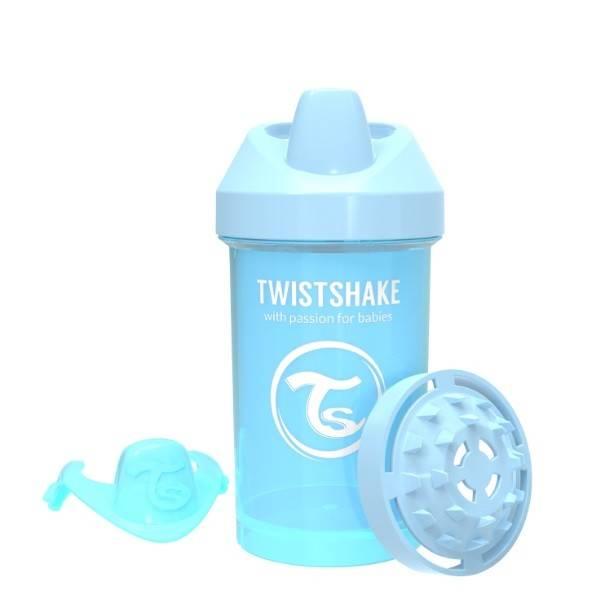 Twistshake - Kubek niekapek 300 ml niebieski