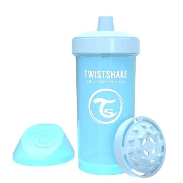 Twistshake - Kubek niekapek 360 ml niebieski