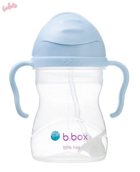 B.BOX - Bidon ze słomką 240 ml, Gelato Bubblegum