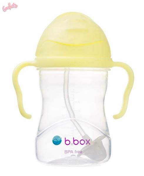 B.BOX - Bidon ze słomką 240 ml Gelato Banana Split