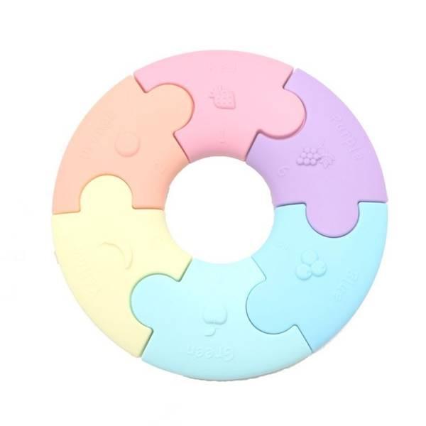 JellyStone - Pierwsze pastelowe puzzle sensoryczne