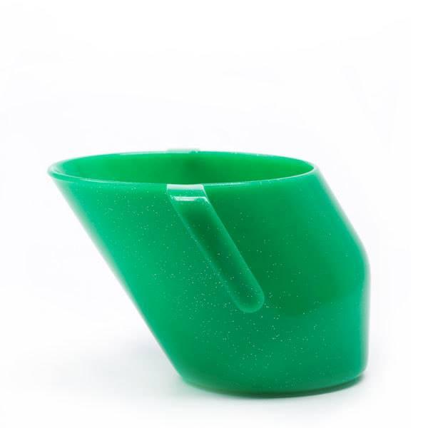 Doidy Cup - Kubeczek agrestowy z brokatem