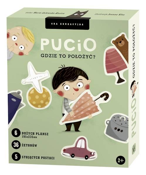 Nasza Księgarnia - Gra Pucio gdzie to położyć?