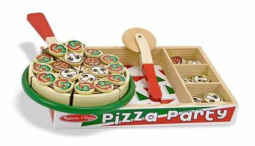 Melissa&Doug: Drewniana pizza do krojenia