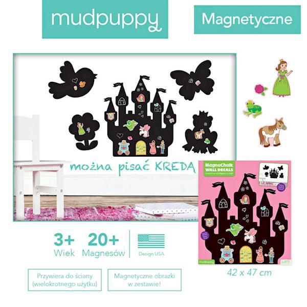 Mudpuppy - Naklejki magnetyczne-księżniczka