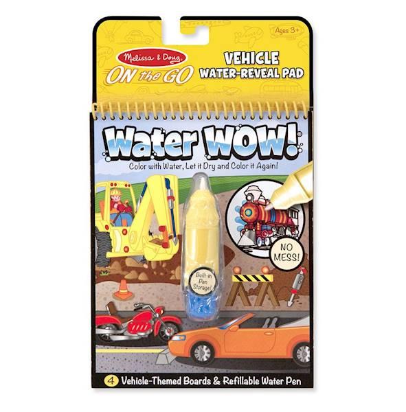 Melissa&Doug - Kolorowanka wodna pojazdy