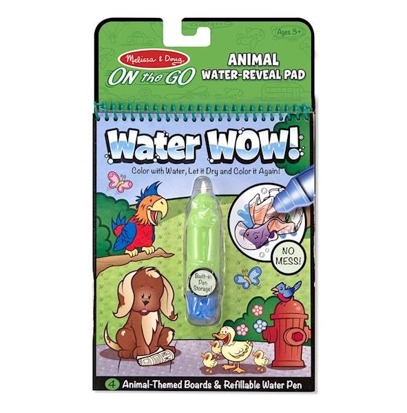 Melissa&Doug - Kolorowanka wodna zwierzaki