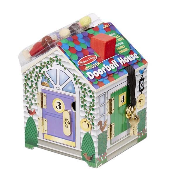 Melissa&Doug - Domek z zamkami i kluczami